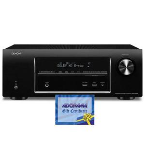 Adorama - Denon AVR-E400 7.1-Channel Network Home Theater Receiver - Bundle - with Adorama $150.00 Gift Certificate