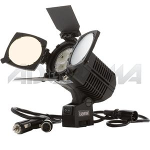 Adorama - Flashpoint LED On Board Video Light, Power Tap Connector, Shoe Mountable Daylight Color Temperature