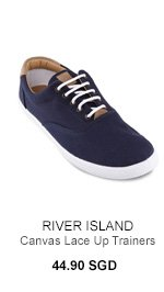 River Island Canvas Trainers