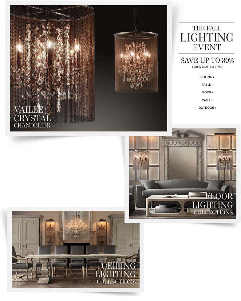 The Fall Lighting Event - Save up to 30%.