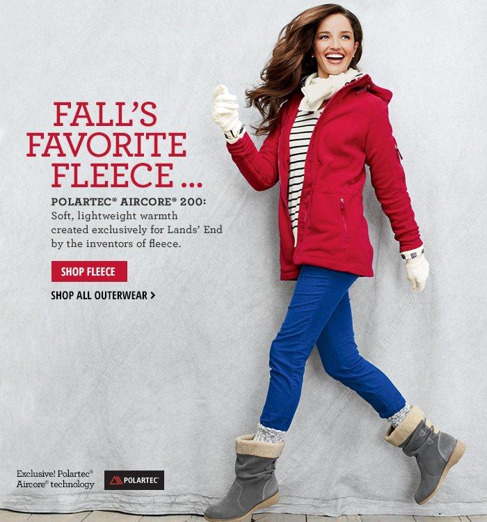 Fall's Favorite Fleece...