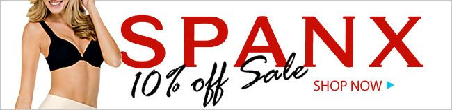 Spanx 10% Off Sale
