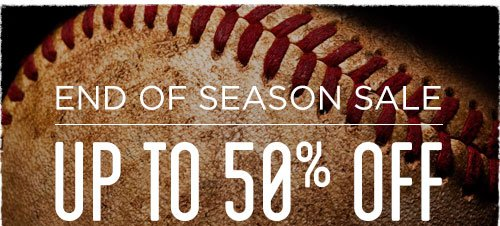 MLB End of Season Sale