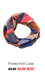 MEXX Printed Knit Collar