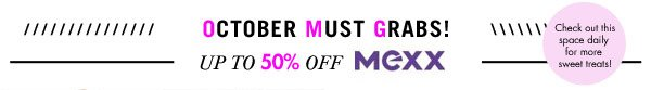 Mexx up to 50% off