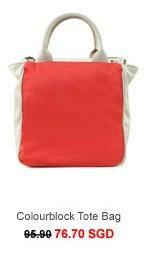 MEXX Colourblock Tote Bag