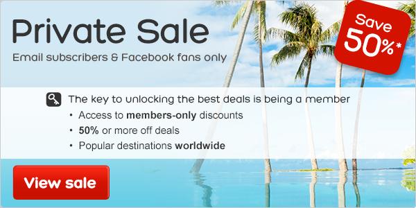 Private Sale | Save 50%*