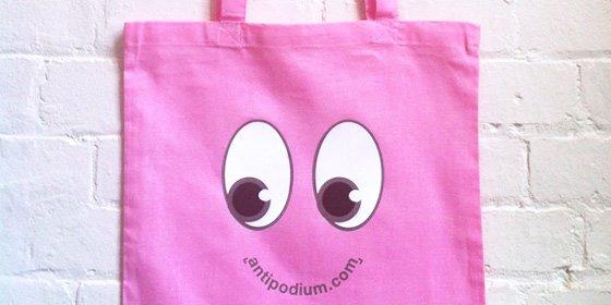Antipodium Eyes Totes