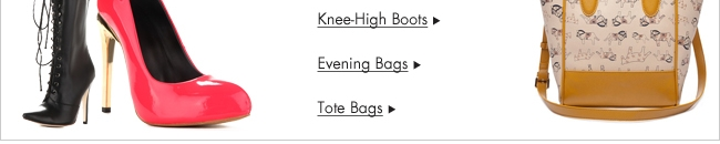 Knee-high boots & bags