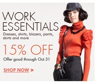 15% off work-essentials-for-women
