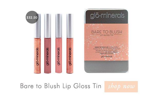 Shop the Bare to Blush Lip Gloss Tin
