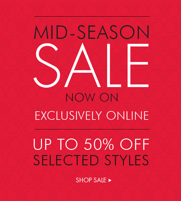 Download Images:  Mid Season Sale with up to 50% off