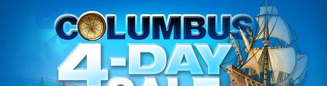 COLUMBUS 4-DAY SALE