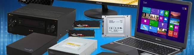 Receiver, Mmeory, SSD, Notebook