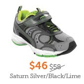 $46 Saturn Silver/Black/Lime