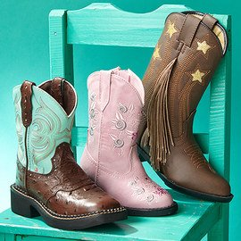 Western Style: Kids' Boots