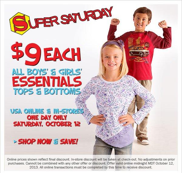 $9 Essentials