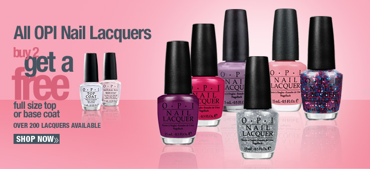 OPI Buy 2 Get Free Top and Base