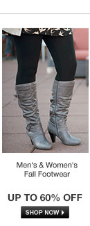 Fab Fall Footwear