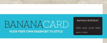 BANANACARD | YOUR VERY OWN PASSPORT TO STYLE