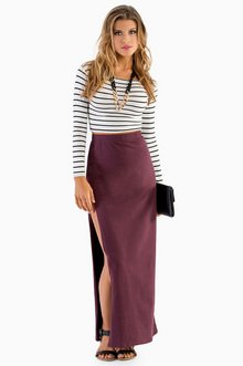 KNEELING KOURTNEY MAXI SKIRT 32