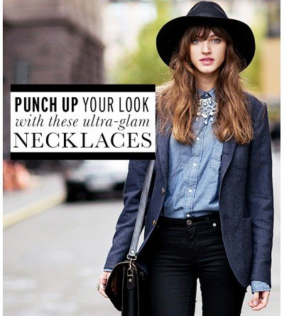 Punch Up Your Wardrobe With These Statement Necklaces