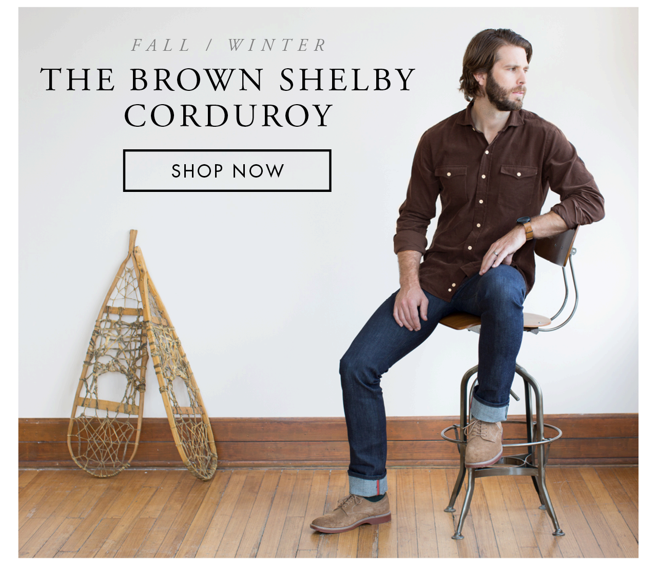 The Brown Shelby Corduroy