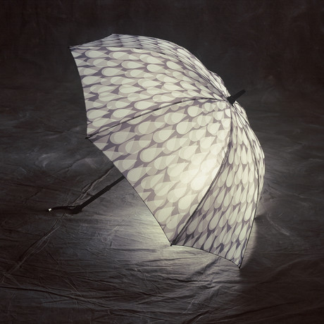 Cloudburst Lighted Umbrella