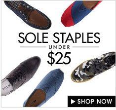 Sole staples under $25