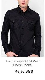 Manchu Shirt with Chest Pocket