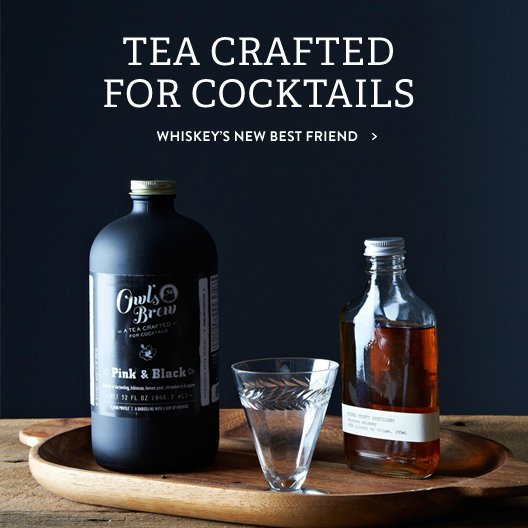 Tea Crafted For Cocktails