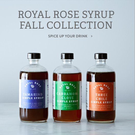 Royal Rose Syrup
