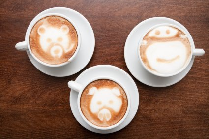 See the cool designs you can make in your latte!