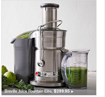 Breville Juice Fountain Elite, $299.95
