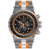 Invicta 12780 Men's Subaqua Nasa Chronograph Titanium & Orange Ceramic Bracelet Dive Watch