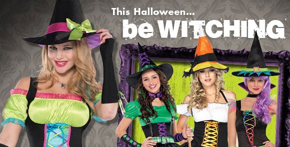 This Halloween... be WITCHING!