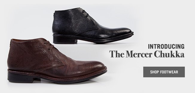 Introducing The Mercer Chukka