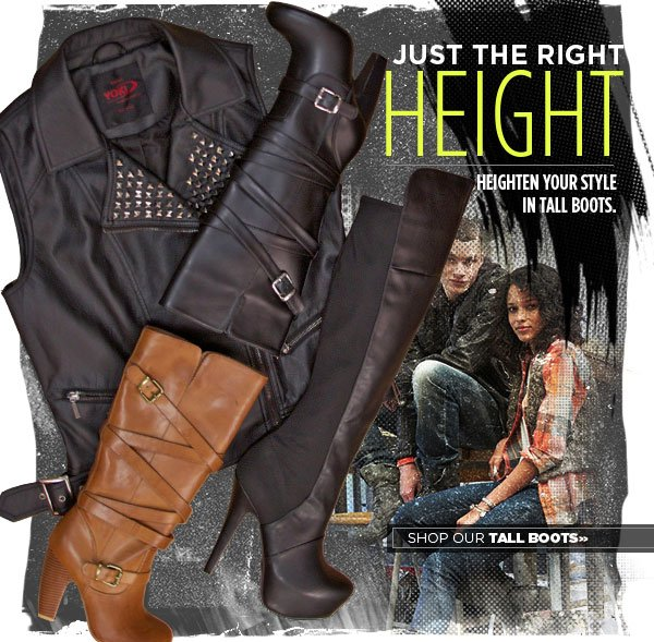 Heighten Your Style with Tall Boots