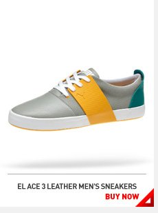 EL ACE LEATHER MEN'S SNEAKERS BUY NOW »