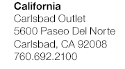 California - Carlsbad Outlet