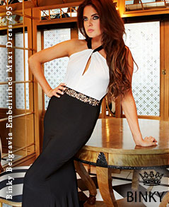 Binky Belgravia Embellished Maxi Dress