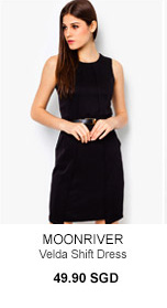 MOONRIVER Velda Shift Dress