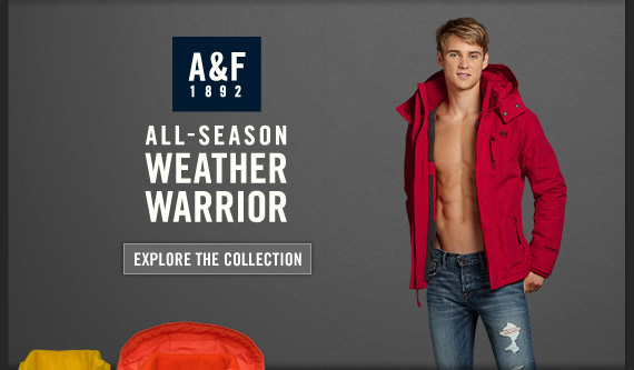 A&F 1892 ALL–SEASON WEATHER WARRIOR EXPLORE THE  COLLECTION
