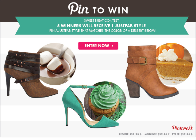 Pin To Win! 5 Winners Will Receive 1 JUSTFAB Credit!