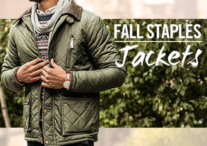 Shop Warm Wool Coats & Quilted Jackets