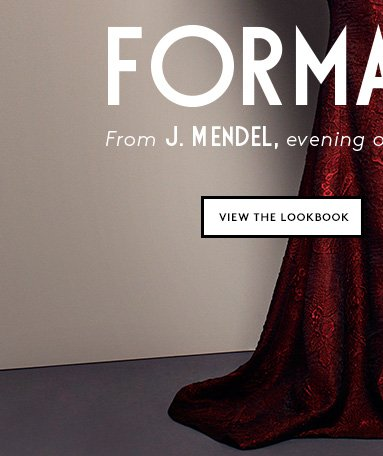 Shop the lookbook: J. Mendel's romantic evening dresses.