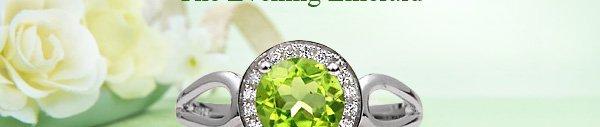 Masterpieces Stunning Green Peridot