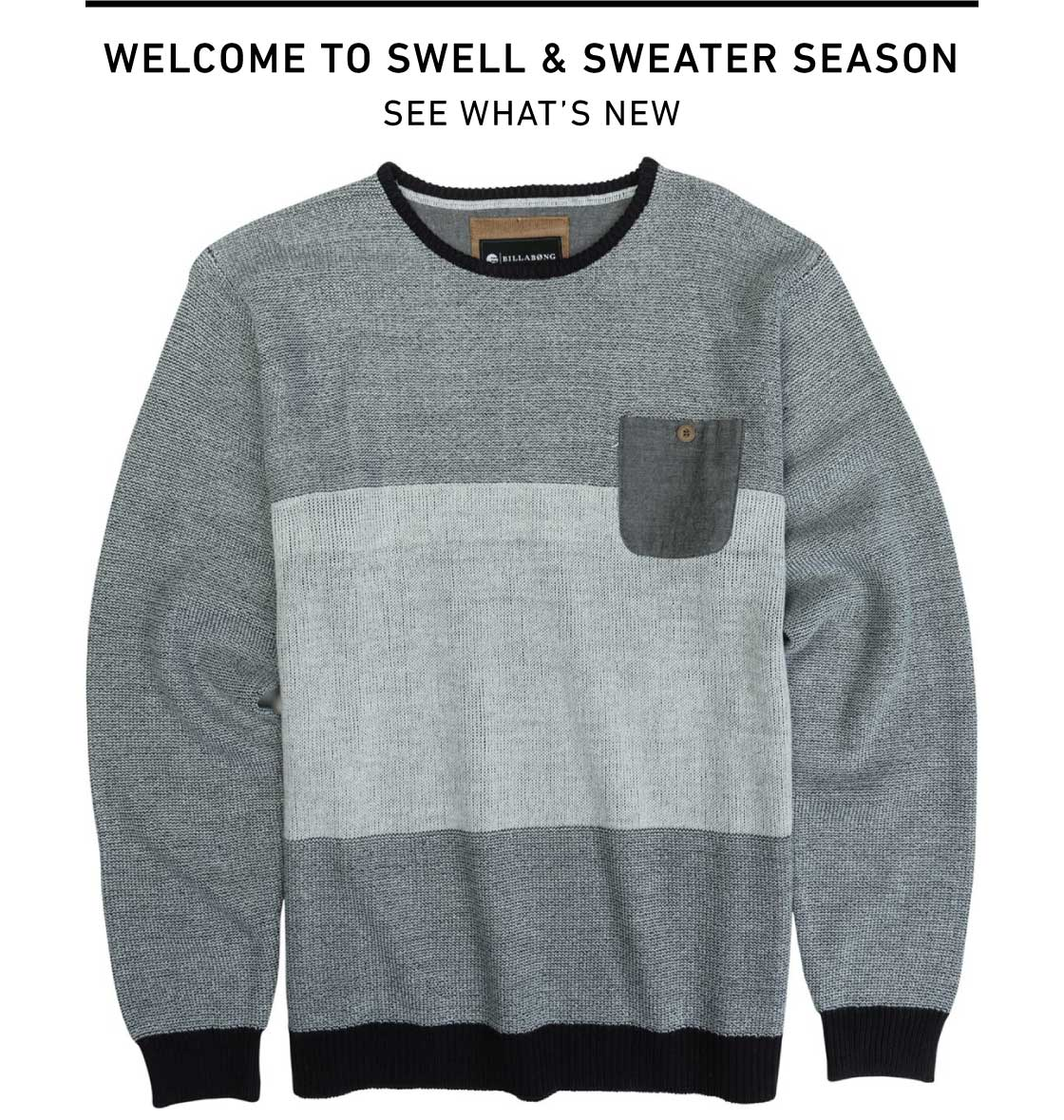 Welcome To Swell and Sweater Season: Shop New Arrivals