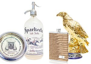 For the Gents: Barware & Beyond
