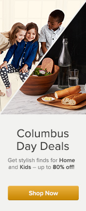 Kids & Home Columbus Day Sale